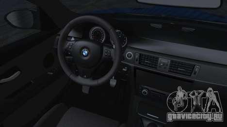 BMW M3 GTS 2011 HQLM для GTA San Andreas вид справа