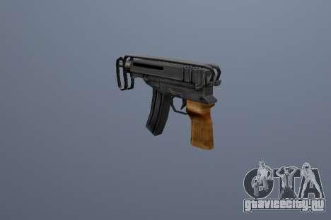 ПП Скорпион для GTA San Andreas третий скриншот