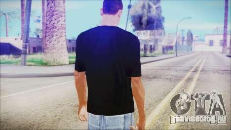 T-Shirt Cane Christmas для GTA San Andreas третий скриншот
