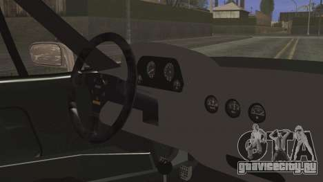 Ferrari F40 Gas Monkey для GTA San Andreas вид справа