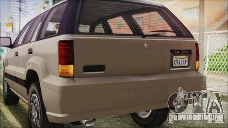 GTA 5 Canis Seminole IVF для GTA San Andreas вид сбоку
