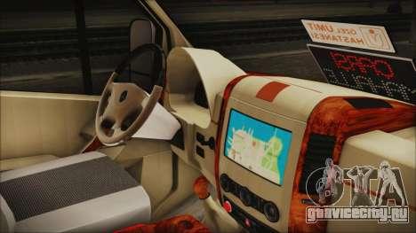 Mercedes-Benz Sprinter 26 M 0009 для GTA San Andreas вид справа