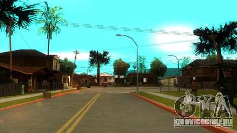 ENB Settings Janeair 1.0 Light для GTA San Andreas пятый скриншот