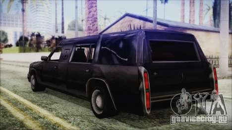The Romeros Hearse для GTA San Andreas вид слева