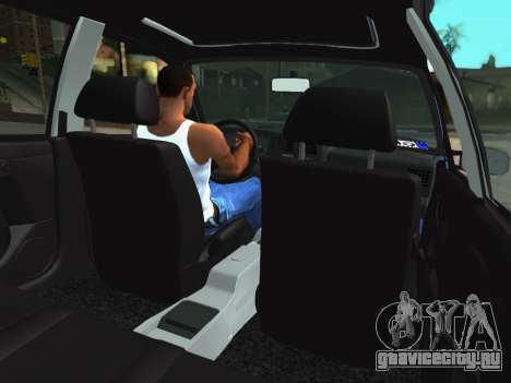 Volkswagen Passat B3 Variant для GTA San Andreas вид сзади