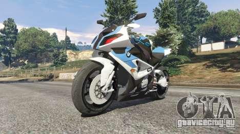 BMW HP4 для GTA 5 вид справа
