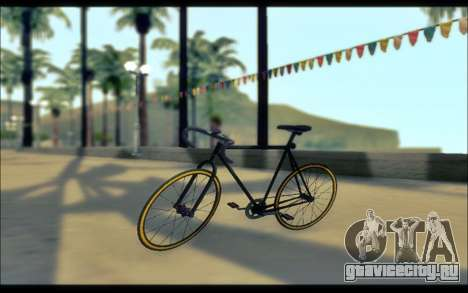 Мод из GTA V Fixter для GTA San Andreas вид слева