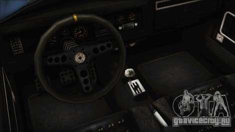 GTA 5 Declasse Mamba для GTA San Andreas вид сзади