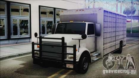 Indonesian Benson Truck In Real Life Version для GTA San Andreas