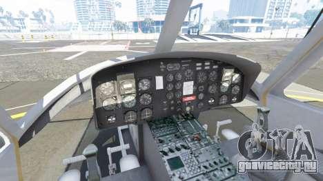 Bell UH-1D Huey Bundeswehr для GTA 5 пятый скриншот