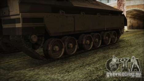 IFV-6C Panther Tracked IFV для GTA San Andreas вид сзади слева