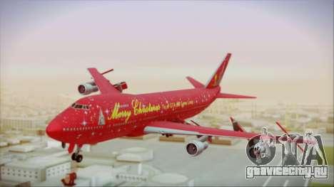 Boeing 747-100 Merry Christmas для GTA San Andreas