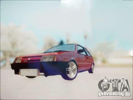 Ваз 2108 Турбо для GTA San Andreas вид слева
