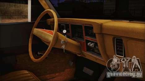 Dodge Dart 1975 для GTA San Andreas вид справа