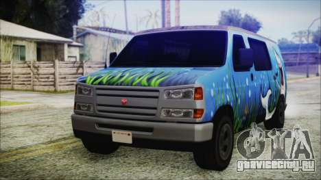 GTA 5 Bravado Paradise Shark Artwork для GTA San Andreas