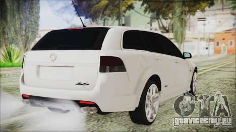 Holden Commodore VE Sportwagon 2012 для GTA San Andreas вид слева