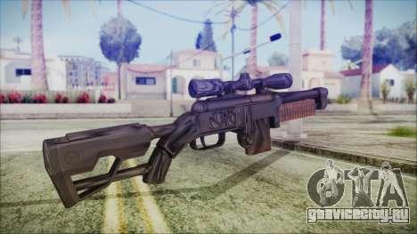 Fallout 4 Overseers Guardian для GTA San Andreas второй скриншот
