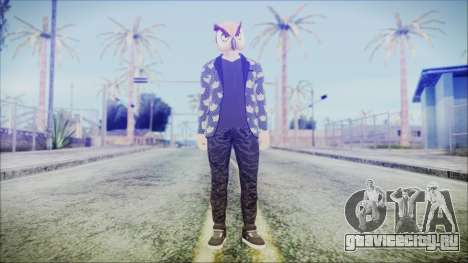 GTA Online Skin 58 для GTA San Andreas второй скриншот