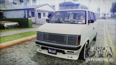 GTA 5 Declasse Moonbeam Custom IVF для GTA San Andreas