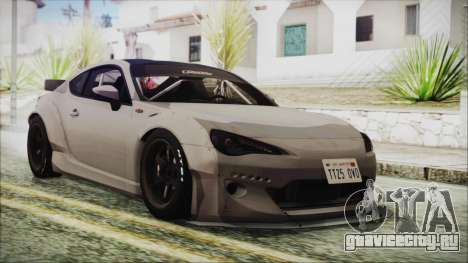Toyota GT86 Rocket Bunny Tunable HQLM для GTA San Andreas