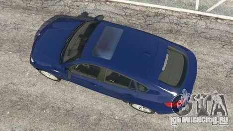BMW X6 M (E71) v1.5 для GTA 5 вид сзади