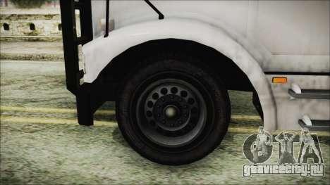 Indonesian Benson Truck Not In Real Life Version для GTA San Andreas вид сзади слева