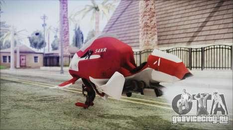 Syndicate Flying Motorcycle для GTA San Andreas вид слева