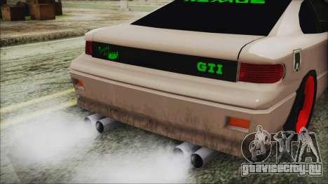 New Alpha Street для GTA San Andreas вид сзади