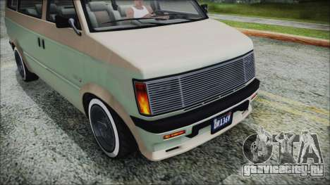GTA 5 Declasse Moonbeam Custom IVF для GTA San Andreas вид справа