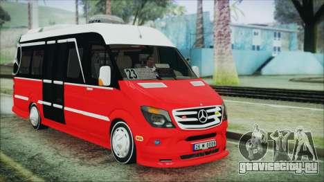 Mercedes-Benz Sprinter 26 M 0009 для GTA San Andreas