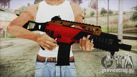 Xmas G36C для GTA San Andreas третий скриншот