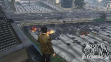 Тепловое зрение Супермена 1.1 для GTA 5 второй скриншот