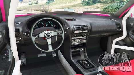 Honda Integra DC2 для GTA 5 вид сзади справа