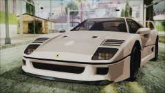 Ferrari F40 Gas Monkey для GTA San Andreas