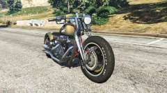 Harley-Davidson Knucklehead Bobber для GTA 5
