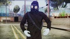 GTA 5 Online The Heist Gasmask White