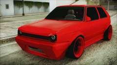 Volkswagen Golf 2 Ghetto Cult для GTA San Andreas