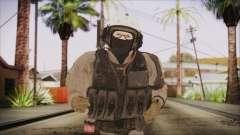 XOF Soldier (Metal Gear Solid V Ground Zeroes) для GTA San Andreas
