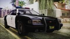 GTA 5 Vapid Stranier II Police Cruiser