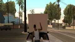 Открыть капот или багажник руками для GTA San Andreas