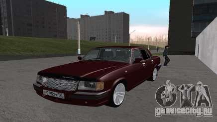 ГАЗ 31105 Вишня для GTA San Andreas