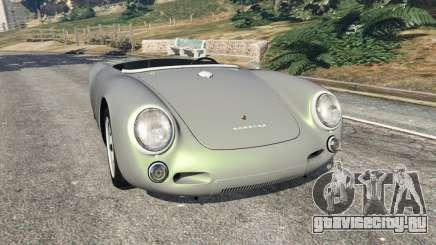 Porsche 550A Spyder 1956 для GTA 5