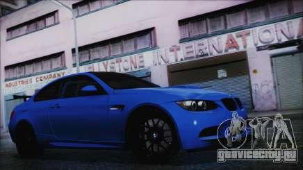 BMW M3 GTS 2011 HQLM для GTA San Andreas