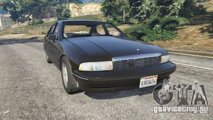 Chevrolet Caprice 1991 v1.2 для GTA 5