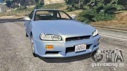 Nissan Skyline R34 2002 для GTA 5