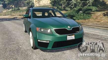Skoda Octavia VRS 2014 [estate] для GTA 5