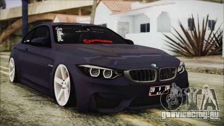 BMW M4 Stance 2014 для GTA San Andreas