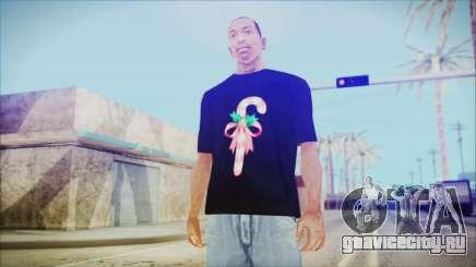 T-Shirt Cane Christmas для GTA San Andreas