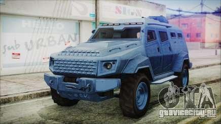 GTA 5 HVY Insurgent Van IVF для GTA San Andreas