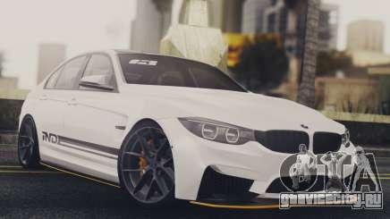 BMW M3 F30 IND EDITION для GTA San Andreas